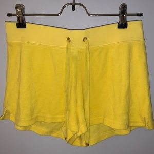 Juicy Couture Yellow shorts